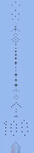 RAF100 Flypast - 10th July 2018
