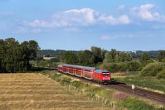 Bekdorf (Nils Wieske) Tags: schleswigholstein baureihe 245 traxx db regio bahn zug züge eisenbahn marschbahn train railway railroad