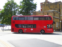 SLN 12447 - SN67XEM - WOOLWICH NEW ROAD - SUN 8TH JULY 2018 (Bexleybus) Tags: woolwich town centre shopping tfl route new road 161 adl dennis enviro 400 mmc hybrid stagecoach london 12447 sn67xem