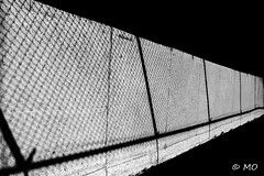 Cosmos (mathieuo1) Tags: canada montreal street streetphotography urban wire cosmos work nikon shadow play lines shape sharp geometry string grid graphic composition rules form blackandwhite bnw horizon perspective diagonal hard shady shard convergence art architecture razor exposure raw town dynamic under fineart fullframe mathieuo