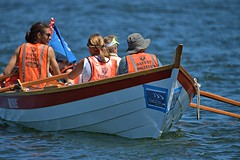 Row Row Row Your Boat (Scott 97006) Tags: oars rowing boat water river team people lifejacket rosie