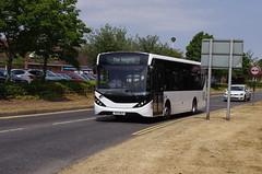 IMGP2215 (Steve Guess) Tags: byfleet surrey england gb uk bus alexander dennis enviro e20 mmc courtney yx17nlf