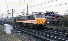 Mossend 86508 29mar89 c098 (Ernies Railway Archive) Tags: mossendyard cr lms scotrail