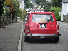 1969 VW Variant (occama) Tags: dnp239h vw volkswagen variant type 3 red old car cornwall uk air cooled german