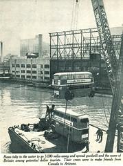 London transport RT2775 and RTL1307 in New York 1952. (Ledlon89) Tags: rt rtbus rtl rtlbus leylandtitan aecregent aec leyland lt lte london bus buses londontransport londonbus londonbuses canada usa america 1952 tour 19950s transport