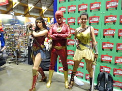 Wonder Woman, the Flash and Princess Diana of Themyscira (Sconderson Cosplay) Tags: supanova sydney 2018 cosplay flash barry allen cw wonder woman princess diana themyscira prince