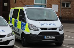 EY67 CXC (Ben Hopson) Tags: durham constabulary ford transit custom cell van 2017 new 999 prisoner transport ey67 cxc ey67cxc police