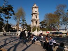 Saat Kulesi/Clock Tower, Dolmabahçe Sarayı/Palace, Istanbul (Steve Hobson) Tags: dolmabahçe saat clock tower istanbul kule