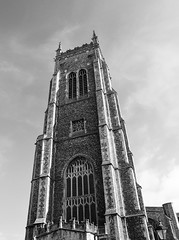 St Peter and St Paul, Cromer (Dun.can) Tags: cromer norfolk blackwhite church stpeterandstpaul parish arthurblomfield 14thcentury 19thcentury perpendicular