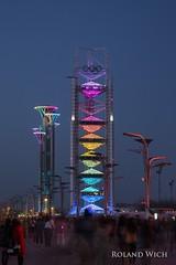 Beijing (Rolandito.) Tags: asia chine china beijing peking olympic park dusk twilight night