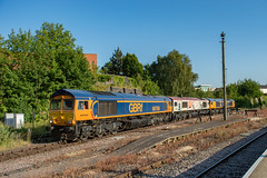 66768 66721 66775 (Shed seven) Tags: 66768 66721 66775 gbrf convoy leicester shed locos diesel