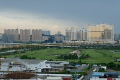 After the rain, everything is clear (klkuo) Tags: clear landscape golf galaxy macau coloane city macao dailyphoto urban iamclear smellgood rain fujifilm xseries