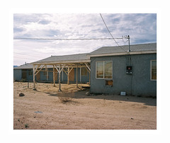 (iconicturn) Tags: california city unitedstates mojave usa decay evicted abandoned analog analogue film mediumformat 120 6x7 kodak portra mamiya7 mamiya