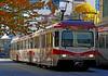 Calgary C Train. (Bernard Spragg) Tags: transport rail city ride train light lumix canada alberta street travel