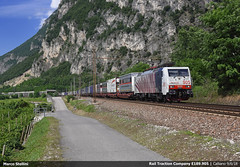 RTC E189.905 (Marco Stellini) Tags: rail traction company rtc lokomotion br189 brennerbahn brennero trentino adige