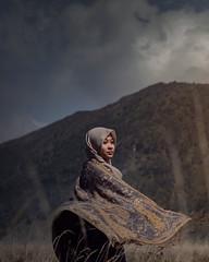 Bisakah kau hidup tanpa teduhnya wanita? (charis02021999) Tags: girl moslem hijab portrait portraiture landscape nature konicahexanon50mmf17 sonyalpha sonya6000