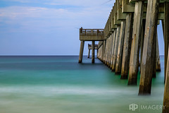 Fishing off the Pier (AP Imagery) Tags: lee 10stop bigstopper beach ocean nd peir pier water fishing panama filter waves city pcb florida panamacitybeach unitedstates us