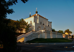 Reminding Dawn (DementyD) Tags: gatehouse church astrakhan kremlin fortress wall orthodoxy street morning dawn церковь астрахань кремль крепость стена улица утро рассвет