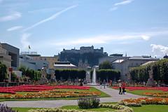 Salzburg - Mirabellgarten (05) (Pixelteufel) Tags: salzburg österreich austria tourismus mirabellgarten altstadt innenstadt city stadtmitte stadtkern historisch park parkanlage kurpark blumen blumenschmuck blumenbeet