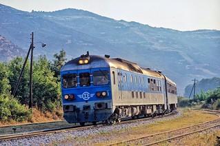 Morning train at Tempi