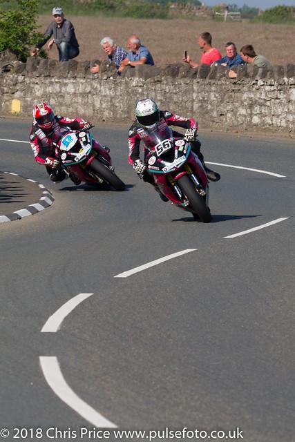 Post TT Races 2018; CuPlas Callow 600cc Race