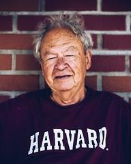 Harvard guy (jameswilkinson1) Tags: streetportrait wall streetphotography streetphotographer streetpassionaward street university harvard city man portrait urban people