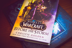 World of WarCraft books [Day 3489] (brianjmatis) Tags: books blizzard photoaday videogame reading worldofwarcraft wow novel book project365 sanluisobispo california unitedstates us
