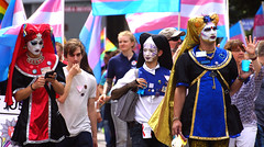 24. CSD Nordwest 11.000 participants / Gay Pride 2018 -  - Oldenburg population 165.000 (Lower Saxony / Germany) - `Sisters of Perpetual Indulgence´ (tusuwe.groeber) Tags: germany lowersaxony oldenburg deutschland niedersachsen farbig farben colourful colours sony sonyphotographing nex7 bunt regenbogen rainbow gaypride csd nordwest northwest 2018 lesben schwule lesbian gays pride parade christopherstreetday transgender transsexuel streetshot lgbt glbt lsbttiq demo demonstration street strase schwesternderperpetuellenindulgenz spi sistersofperpetualindulgence