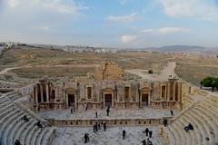 Southern Theatre, Jerash, Jordan, January 2018 411 (tango-) Tags: giordania jordan middleeast mediooriente الأردن jordanien 約旦 ヨルダン jerash theatre souththeatre