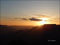 Gran Cañón, Arizona (JaviMenen) Tags: grn cañon desert view arizona sunset atardecer eeuu usa colorado river río