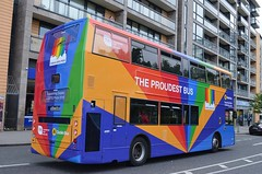 The Proudest Bus # 2 (@ tb 2018) Tags: ax488 pride2018 dublinbus route77a tallaght thesquare ringsenddepot