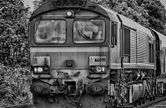 Harsh (_J @BRX) Tags: 443t 0627 draxpowerstation milfordwestsidings db class66 66096 littleheck yorkshire england uk 16th june 2018 summer nikon d5200 railway railroad train freighttrain locomotive diesel electromotive emd gm ews