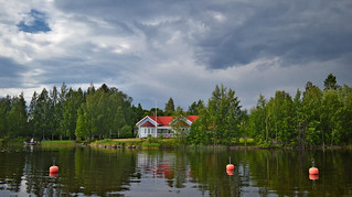 Calm after the rain... Finland, summer.