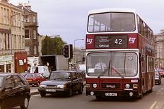 LOTHIAN REGIONAL TRANSPORT 364 F364WSC (bobbyblack51) Tags: lothian regional transport 364 f364wsc leyland olympian alexander rh edinburgh 1995