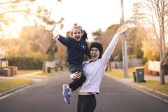 Mitcham Afternoon (klezergaspar) Tags: australia victoria melbourne mitcham family afternoon winter street love travel