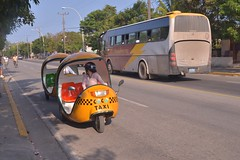 CUBA , Coco taxi (pontfire) Tags: color couleur urban cuban street tourism holiday outdoors ancient latin travel decay caribbean vintage îledecuba pontfire islandofcuba thecaribbean lescaraïbes traveler trip road route voyage