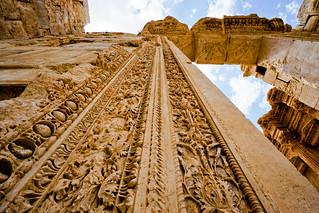 Puerta del Templo de Baco
