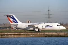 EI-PAT British Aerospace 146-100 Air France (pslg05896) Tags: eipat bae146 airfrance cityjet lcy eglc londoncity
