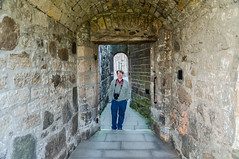 Matt at Stirling Castle (Courtarro) Tags: hdr mattmalone scotland stirling stirlingcastle building castle person