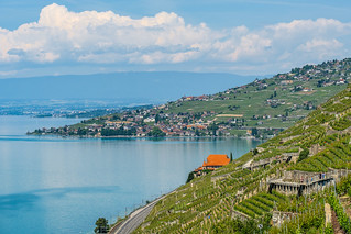 View on Lake Geneva