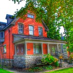 Brockville Ontario - Canada -  207 King Street East - Home of Col. James Walsh  - Indian Cliff thumbnail