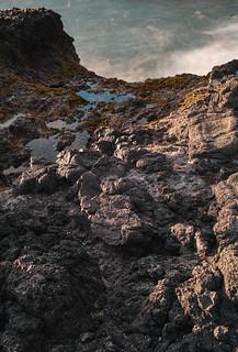 The rocky edge