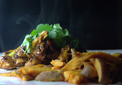 Stir Beef Teriyaki, Sweet Potato Fries and Coriander (Tony Worrall) Tags: add tag ©2018tonyworrall images photos photograff things uk england food foodie grub eat eaten taste tasty cook cooked iatethis foodporn foodpictures picturesoffood dish dishes menu plate plated made ingrediants nice flavour foodophile x yummy make tasted meal nutritional freshtaste foodstuff cuisine nourishment nutriments provisions ration refreshment store sustenance fare foodstuffs meals snacks bites chow cookery diet eatable fodder stirbeefteriyaki sweetpotatofriesandcoriander asian chips fries meat spicy