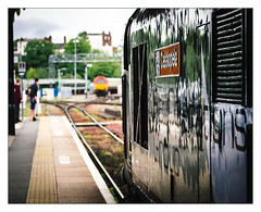 Cassiopeia (Gingydadtog) Tags: class37 diesel locomotive railoperationsgroup worcester worcestershrubhillstation worcestershire