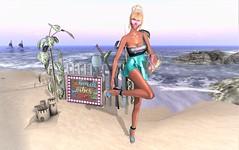 *Beach Vibes & Beach Babe* (SherriOhCherri) Tags: ebp beachedbunnyhunt8 grumble it ~xtc enchante vanityevent dreamscapeartgallery hive pm mosquitosway zibska truth pewpew catwa maitreya secondlifeblogger secondlifehunts