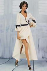 Fashion Royalty Elyse Seduisante (Regina&Galiana) Tags: fashionroyalty integritytoys doll barbie nuface fr2 fr3 elyse seduisante for sale ebay dress white