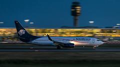 N860AM - AeroMexico - Boeing 737-83N (bcavpics) Tags: n860am aeromexico boeing 737 738 aviation aircraft airliner airplane plane cyvr yvr vancouver britishcolumbia canada bcpics