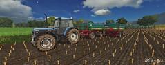 New Holland w/ MettalTech [FS17] (Marius NMG) Tags: new holland farming simulator 17 fs17 grass tree corn tires