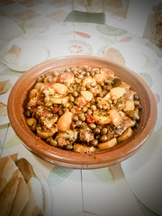 Moroccan fish Tagine (Rahal05) Tags: food tagine foodphotography maroc morocco moroccantagine moroccanfood traditionalfood