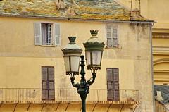 648 - Bastia sur le Vieux Port (paspog) Tags: facades façades fassaden balcons balconies bastia vieuxport corse corsica france mai may 2018 réverbère
